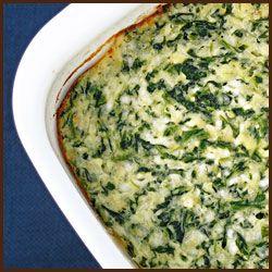 spinach feta casserole | Food | Pinterest