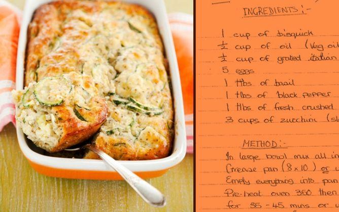 Zucchini Pie | Side Dish Recipes | Pinterest