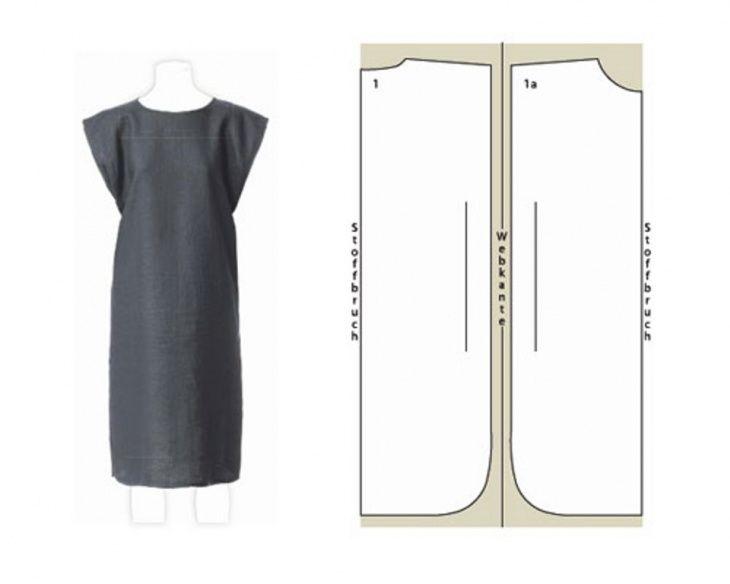 Как сшить простое платье своими руками на
