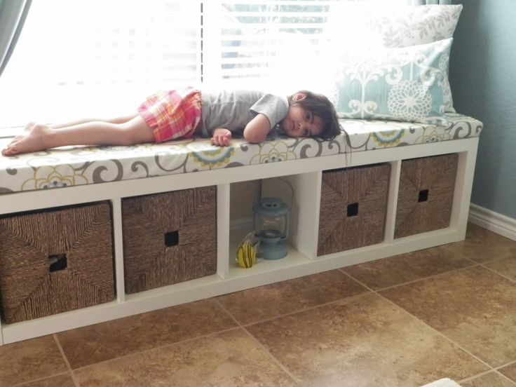 Expedit Bench With Cushion Diy Pinterest