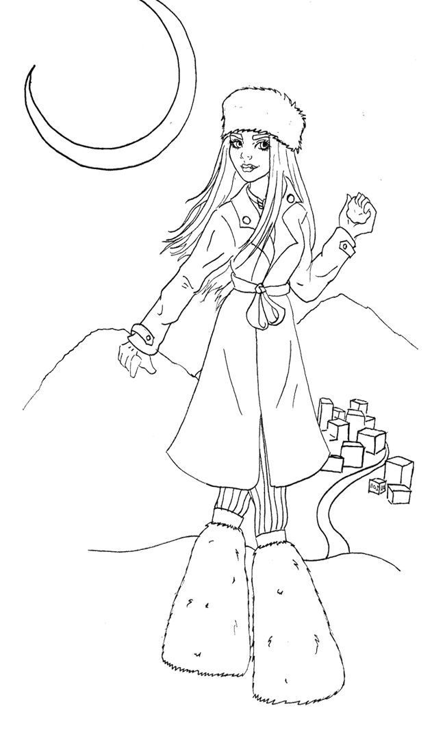 abbey bominable coloring pages - photo#27