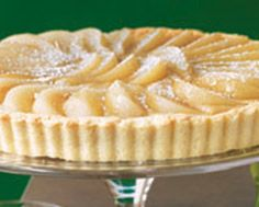 BRANDIED PEAR AND BUTTERSCOTCH TART | Eats: Pies and Tarts | Pinterest