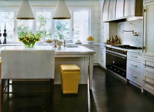 kitchen yellow black and white kitchen pinterest