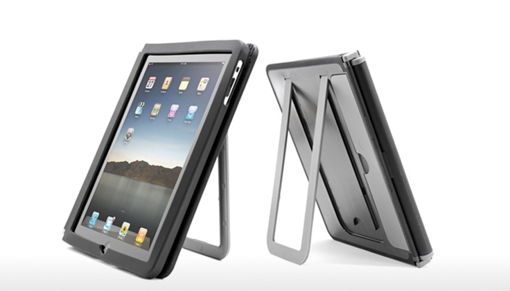 Cloak iPad cover has a proper, sturdy stand and gives full case protection. $29.99