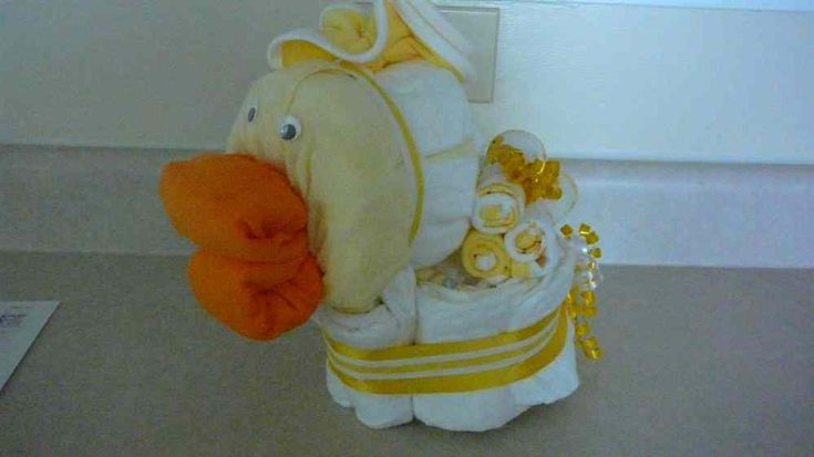 Baby Shaped Cake Images : diaper cake shaped like a rubber duck Baby shower ...