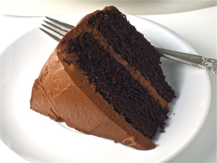 Double-Chocolate Layer Cake | Sweet Tooth | Pinterest