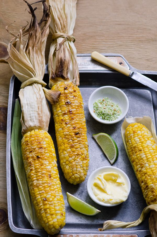 Lime and Chilli Grilled Corn on the Cob - SOOoo simple and sweet - How ...