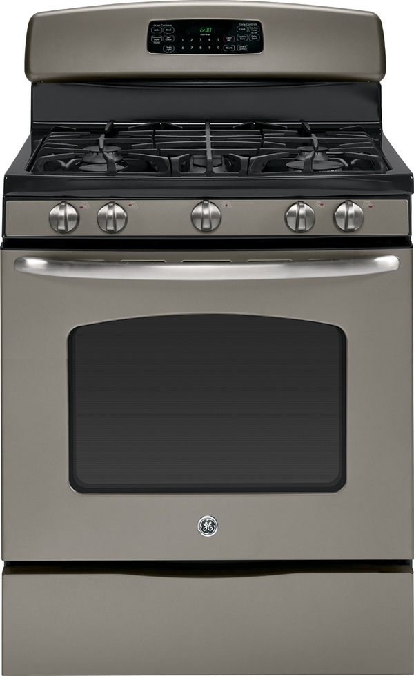 Ge Gas Range In Slate Finish Slate Pinterest