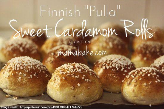 "Finnish ""Pulla"" - Sweet Cardamom Rolls (gluten free!)"