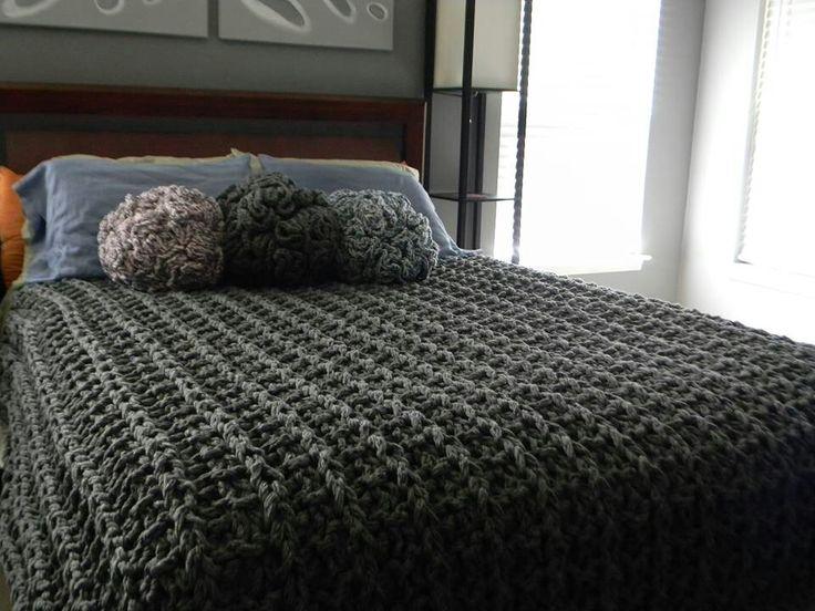 Knit Blanket Pattern Size 50 Needles : Pin by Jolly Panda on Knit Pinterest