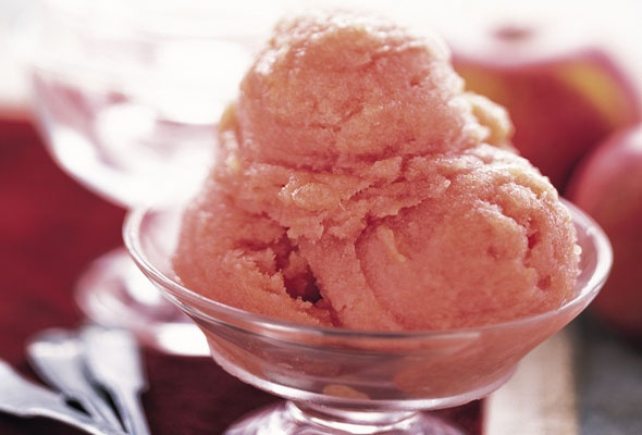 Apple Sorbet with Ginger. Could this be made with honey instead of ...