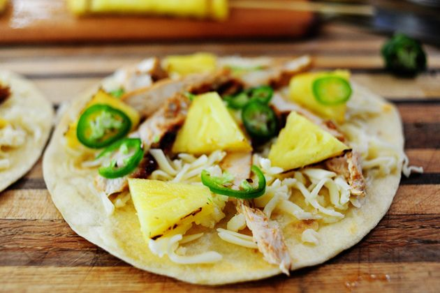 Bbq chicken pineapple quesadillas by Ree Drummond / The Pioneer Woman ...