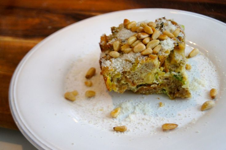 New Recipe from Mama Jess: Roasted Parsnip & Leek Bread Pudding. # ...