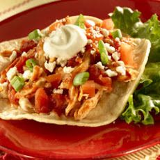 Chicken Tinga Tostadas II Recipe http://www.yummly.com/recipe/Chicken ...