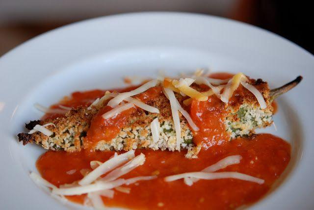marys bites: Chicken Chile Rellenos | Food I wanna make | Pinterest
