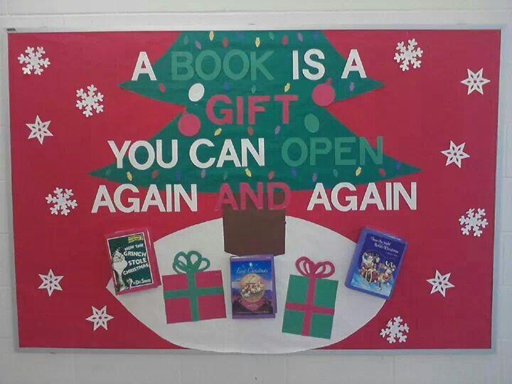 December bulletin board   Teacher Board   Pinterest