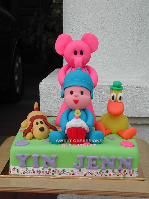 Pocoyo & Friends Cake