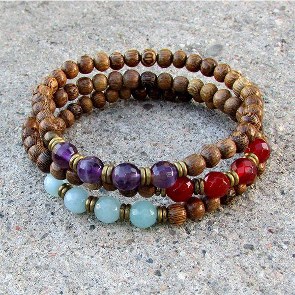 Lovepray Jewelry Mala Stack Bracelet | Prayer Beads | #Meditation