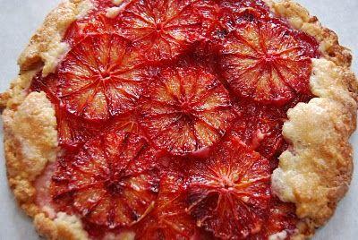 Flaky Blood Orange Tart | Fruit & Fruit Desserts | Pinterest