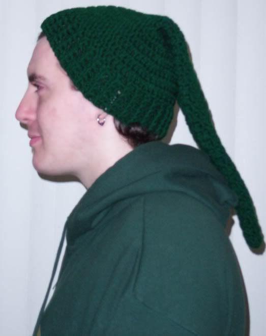 Crochet Zelda Hat : Zelda Link Hat Free Pattern Hats - Free Crochet Patterns Pint...