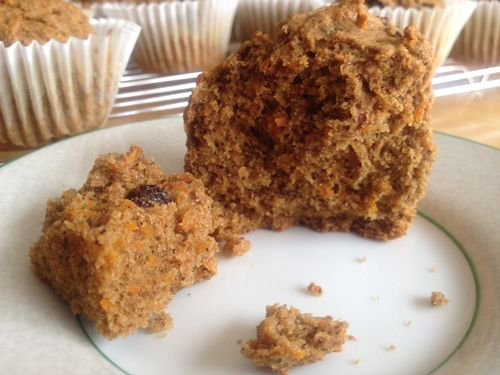 Gluten-Free Vegan Carrot Muffins with Chai Spices Recipe