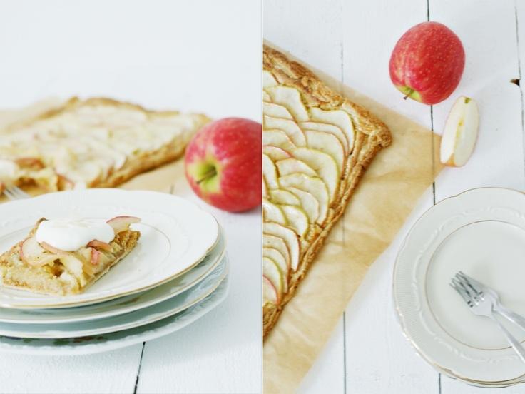 Apple Frangipane tarte <3