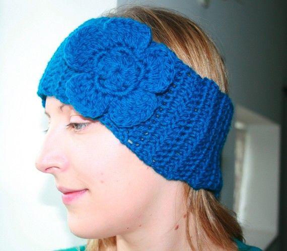 crochet ear warmers/head band