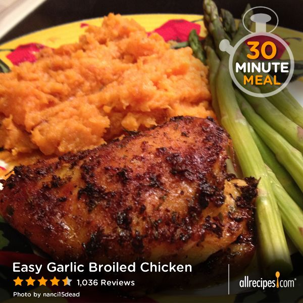 "Easy Garlic Broiled Chicken | ""You read all of the reviews and think ..."