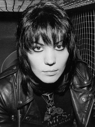 Joan Jett is one of the few that can rock this shaggy cut.