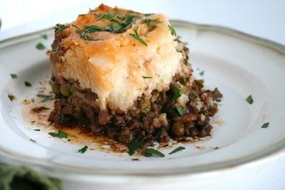 Shepherds Pie - sounds closest to Alison's description of recipe ...