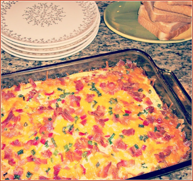 Breakfast Potato-and-Bacon Casserole Recipe — Dishmaps