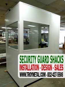 726 pbi prefabricated security guard shack kit sales installation
