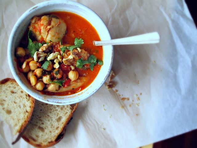 Chicken chickpea #stew. | What do you mean you want dinner? | Pintere ...