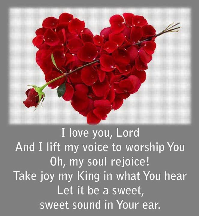 love you, Lord Scripture Quotes and Inspiration Pinterest