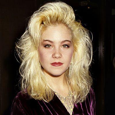 christina applegate s changing looks   1987