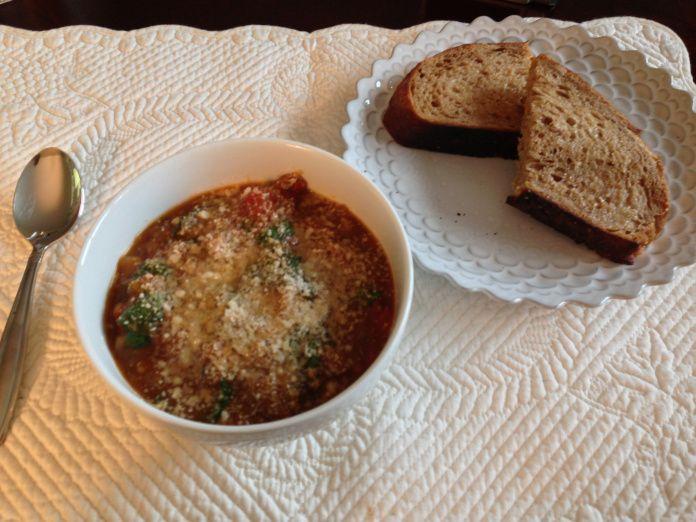 Ciambotta (Italian vegetable stew)