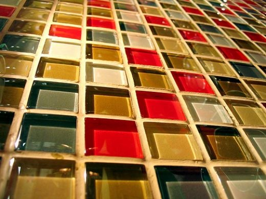 recycled glass backsplash for kitchen for the home