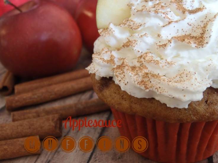 eggs 1tsp. of vanilla 1 cup of applesauce (or 1 cup of sour cream ...