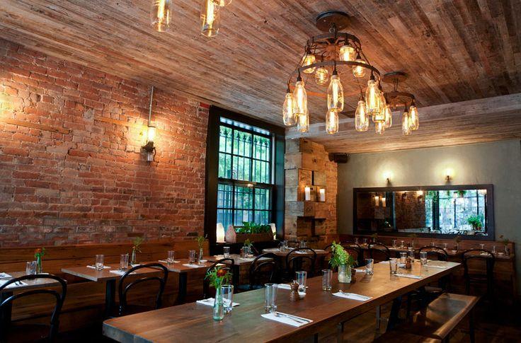 Rucola brooklyn kitchen restaurant design pinterest