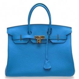 Hermes Bag Birkin...Cobalt Blue
