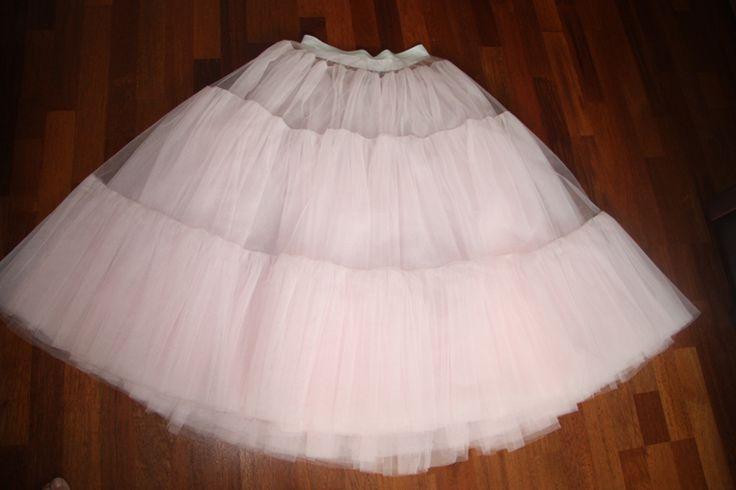 Как правильно сшить юбку из сетки 2