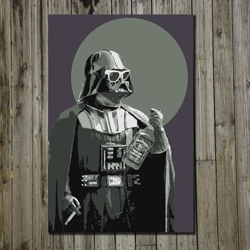 Darth 11x17 now featured on Fab.