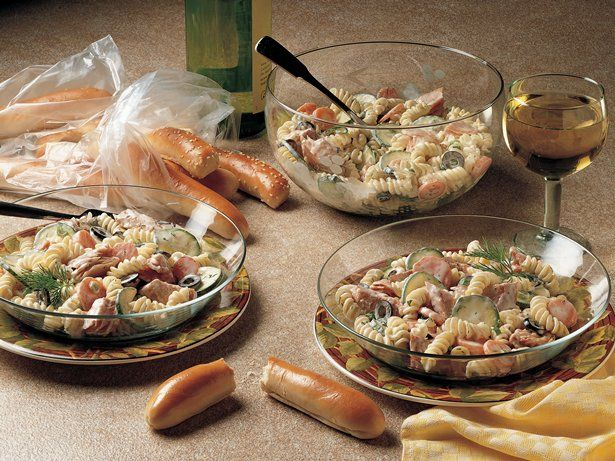Dilled Pasta Salad with Smoked Fish | Recipe