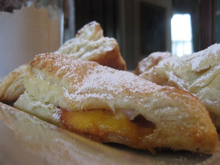 Easy Peach Turnovers | Desserts | Pinterest