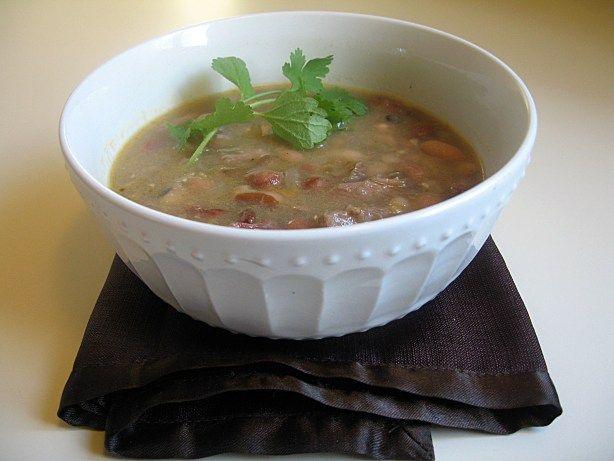 Pork Hock and 15 Bean Soup   Soups   Pinterest