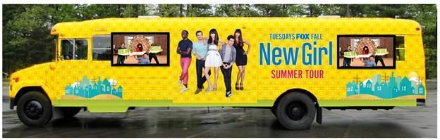 NEW GIRL True American Summer Bus Tour Details