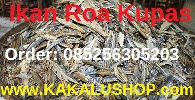 ikan roa ternate ikan roa asap kupas kakalu indonesia