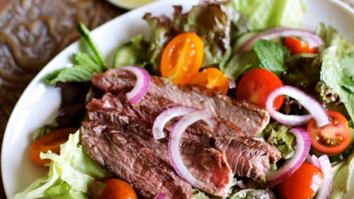 Thai Grilled Steak Salad | STEAK DINNER | Pinterest