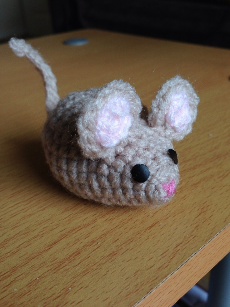 Amigurumi Mouse : Amigurumi mouse.. Crafts Made By Me!!! Pinterest