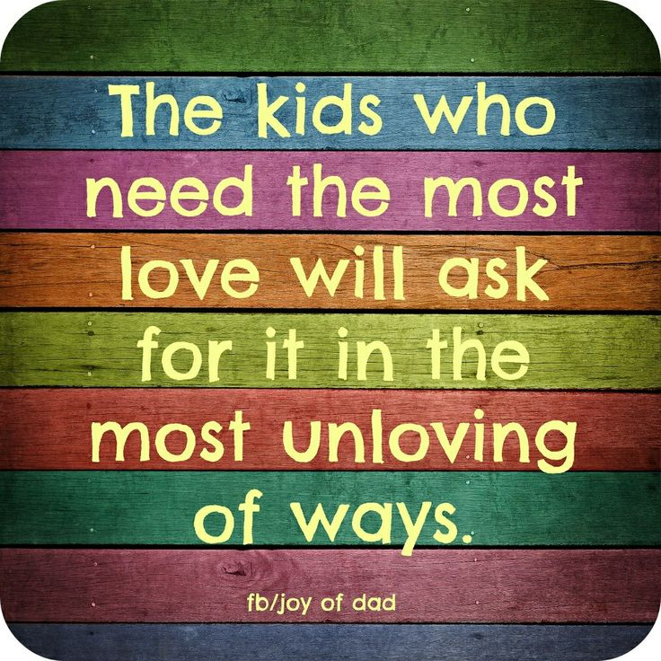 Kids who need the most love | {Pre-K} : Yay Pre-K! | Pinterest